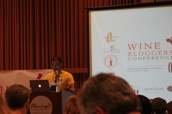 2009 Wine Bloggers' Conference: Joel Vincent