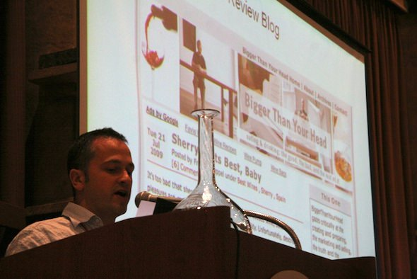 2009 Wine Bloggers' Conference: Joe Roberts