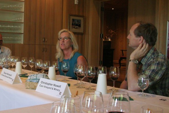 2009 Wine Bloggers' Conference: Susan Boswell and Christopher Howell