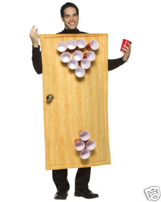 Beer Pong Table Costume