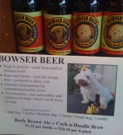 Bowser Beer