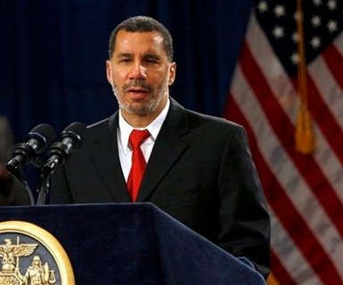 New York Governor David Paterson