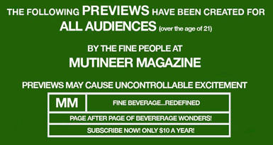 Mutineer Magazine Issue 3 Preview