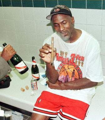 michael jordan injured